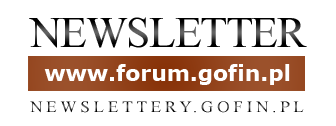 Newsletter Forum - NEWSLETTERY.GOFIN.PL