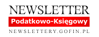Newsletter podatkowo-księgowy - NEWSLETTERY.GOFIN.PL